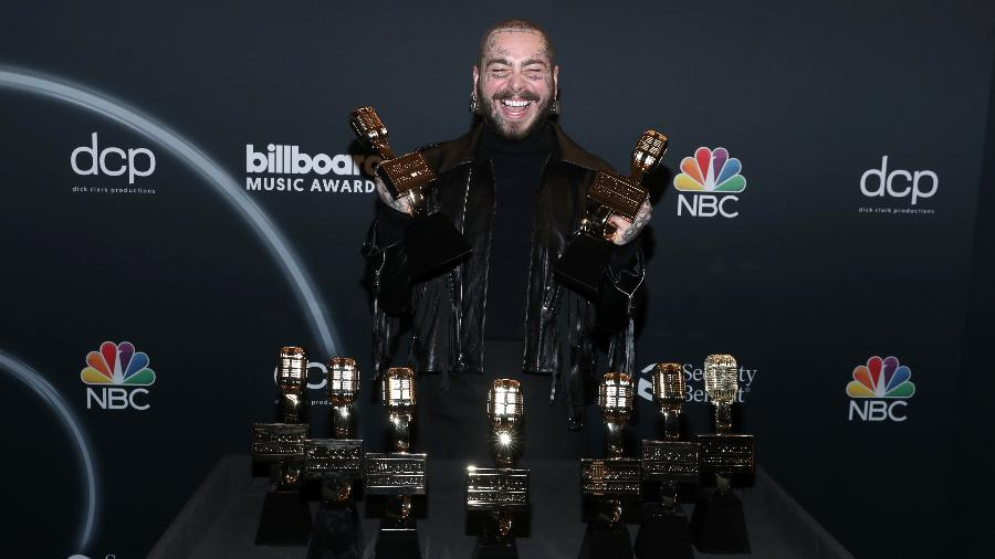 Post Malone leva 9 prêmios no Billboard Music Awards